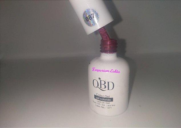 Esmalte em gel QBD #087
