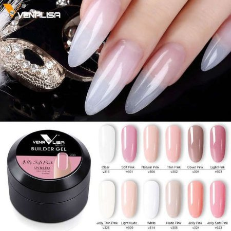 Gel Venalisa Uv Led Builder Gel 15 Ml N°327A
