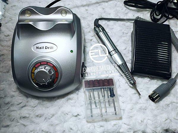 Lixadeira Eletrica Telefone 30000 RPM Prata