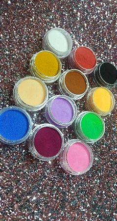 12 Pigmentos em Neon