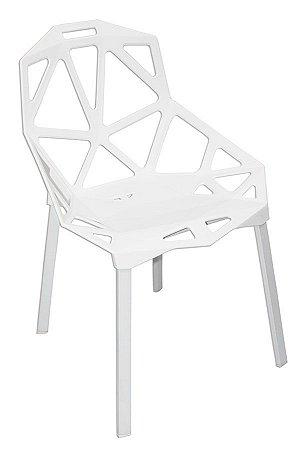 CADEIRA DESIGN ONE BRANCA - MKC-032