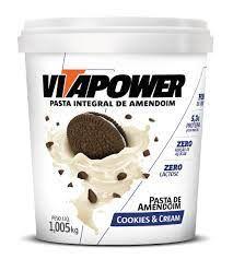 Vita Power Cookies & Cream1,005kg - Pasta de Amendoim