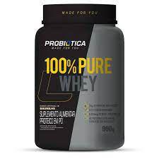 100% Pure Whey Pote 900G Probiotica