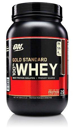 WHEY GOLD STANDARD - 900G - OPTIMUM NUTRITION