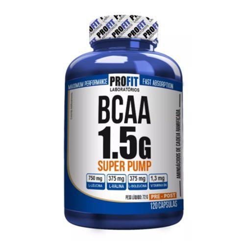 BCAA 1.5g Super Pump - Profit - 120capsulas