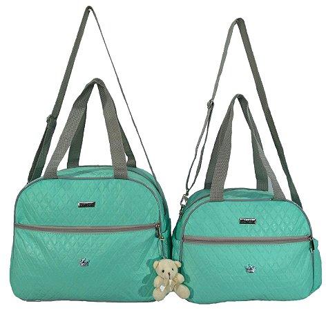 9f4d978c4f04 Kit Bolsa Bebe Maternidade Standard Verde - MIELLU BOLSAS - LR FENIX ...
