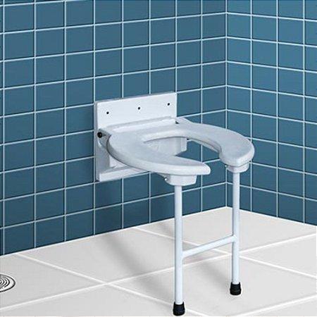 Assento Para Box Dobrável Carci P/ Banho Idoso Deficiente
