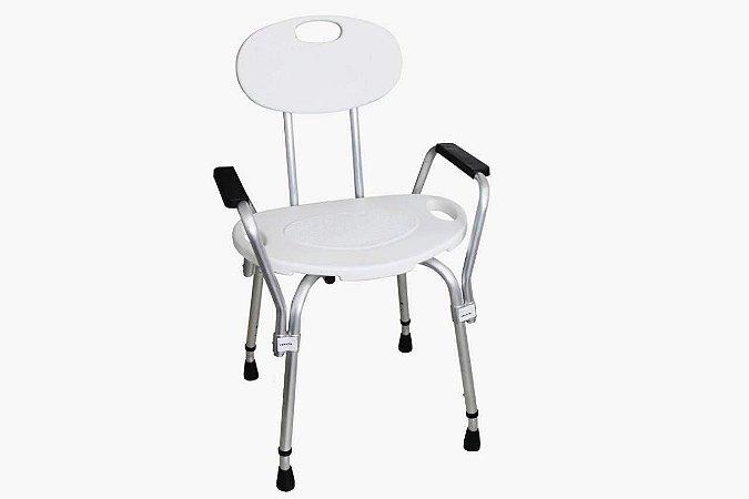 Cadeira de Banho com Encosto e Braço