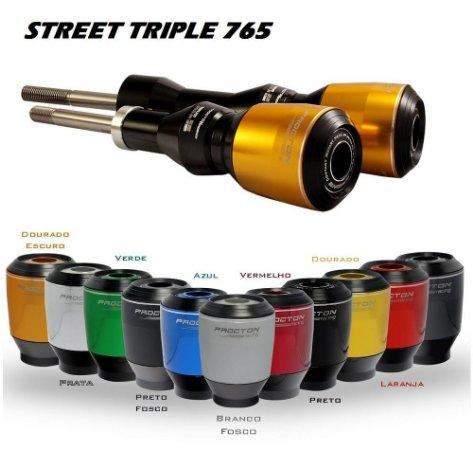 Slider Motor Procton Racing Triumph Street Triple 765 R / RS