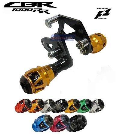 Slider Protetor Motor F1 Procton Racing Honda CBR1000RR 2008 a 2011