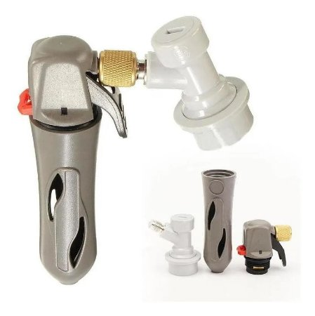 Regulador CO2 + Adaptador Ball Lock + Cartucho CO2 16g ***PRONTA ENTREGA***