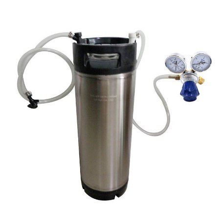 Kit Postmix 19 Litros Emborrachado + Conectores Ball Lock + Regulador CO2 1 saída + Torneira Picnic + Mangueiras + Conexões ***PRONTA ENTREGA***