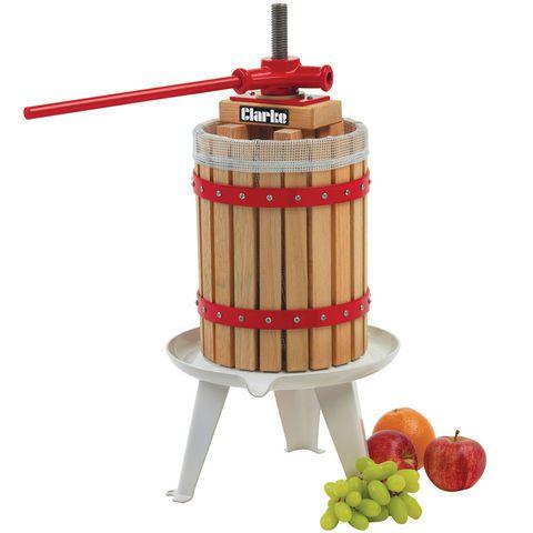 Espremedor Triturador De Fruta Para Cidra Vinho Cerveja 18 Litros