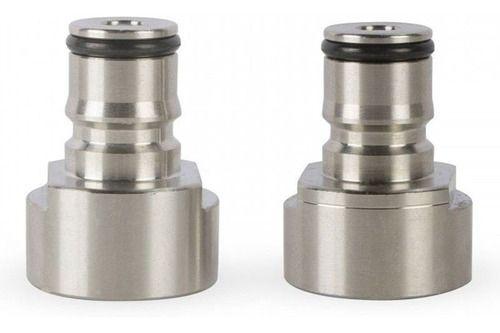 Kit 2 unidades Conversão Sanke Para Cornelius Keg Postmix Ball Lock Regulador Válvula Extratora S Torneira Italiana Belga Barril