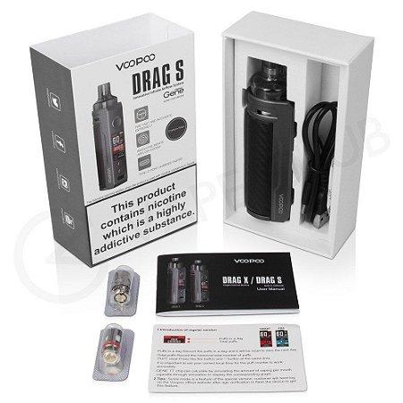 Kit Pod Drag S - c/ Bateria Integrada 2500mAh - Voopoo