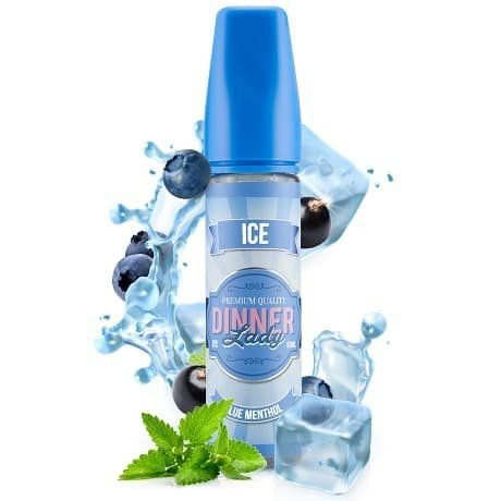 LIQUIDO BLUE MENTHOL ICE - PREMIUM - DINNER LADY