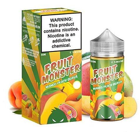 LÍQUIDO MANGO PEACH GUAVA - FRUIT MONSTER - JAM MONSTER