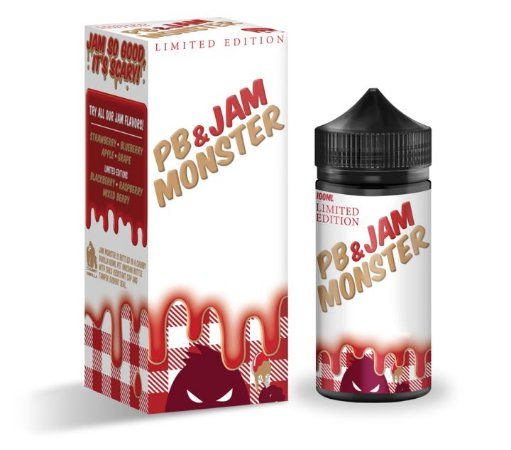 LIQUIDO PB & JAM MONSTER STRAWBERRY - JAM MONSTER