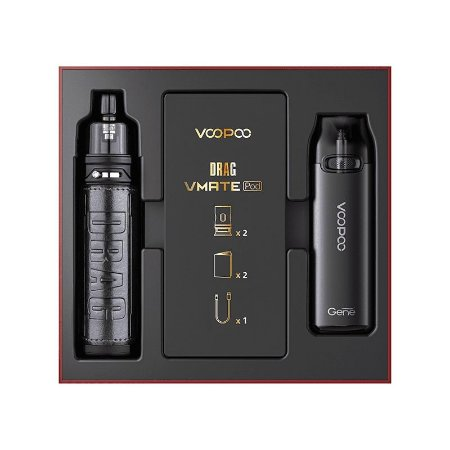 VOOPOO DRAG X & VMATE POD KIT - (LIMITED EDITION)