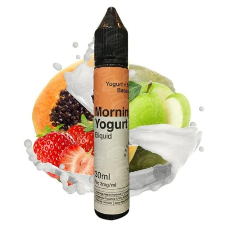 E-liquido Morning Yogurt (Nic Salt) - Dream Collab