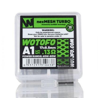 Resistência / Coil PreBuilt nexMESH TURBO 0.13Ohm - Wotofo