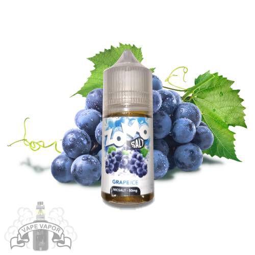 E-Liquido Grape Ice (Nic Salt) - Zomo