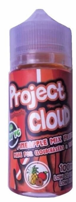 LÍQUIDO PROJECT CLOUD | PINEAPPLE MIX FRUITS - NAKED NATION