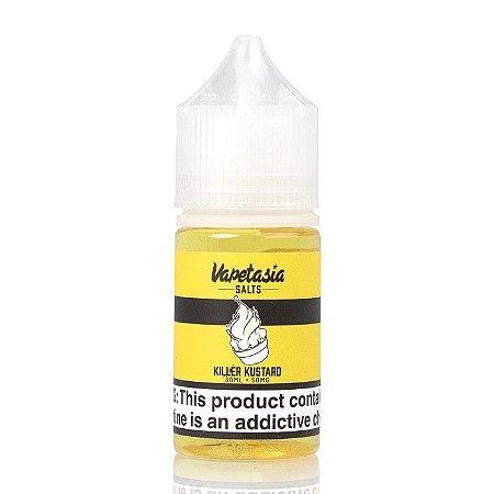 Liquido Nic Salt Nicotine Killer Kustard Lemon - Vapetasia (Baunilha / Limão)