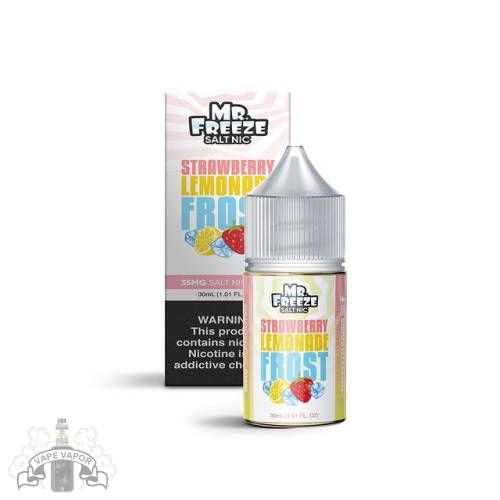 E-Liquido Strawberry Lemonade Frost (Nic Salt) - Mr. Freeze