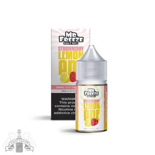 E-Liquido Strawberry Lemonade (Nic Salt) - Mr. Freeze