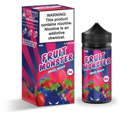 LIQUIDO - MIXED BERRY - JAM MONSTER