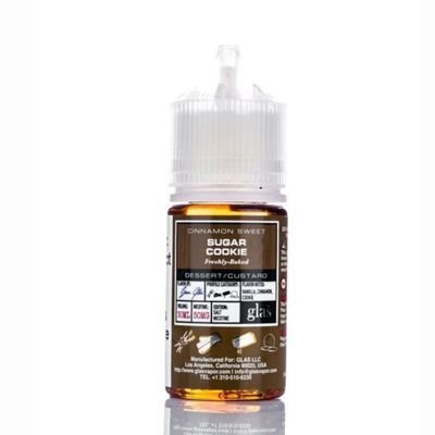 LIQUIDO NIC SALT BASIX SUGAR COOKIE | GLAS