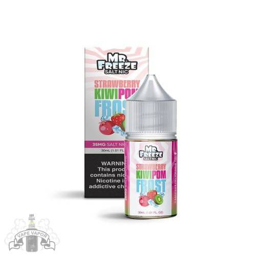 E-Liquido Strawberry Kiwi Pom Frost (Nic Salt) - Mr. Freeze