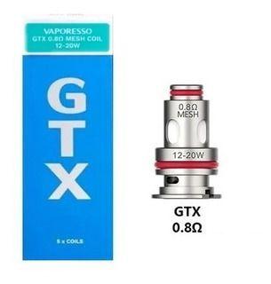 Resistência / Bobina (coil) Vaporesso GTX MESHED 0.8 ohm (PM80), 12 a 20W