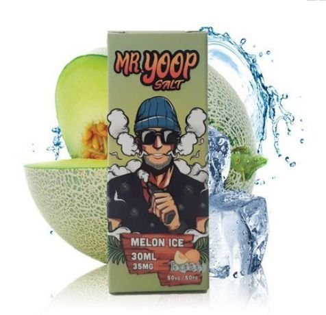 Liquido Nic Salt - Melon Ice - Mr Yoop