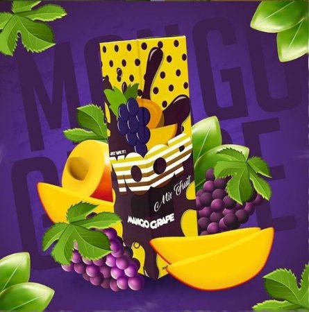 LÍQUIDO MIX FRUIT MANGO GRAPE - YOOP