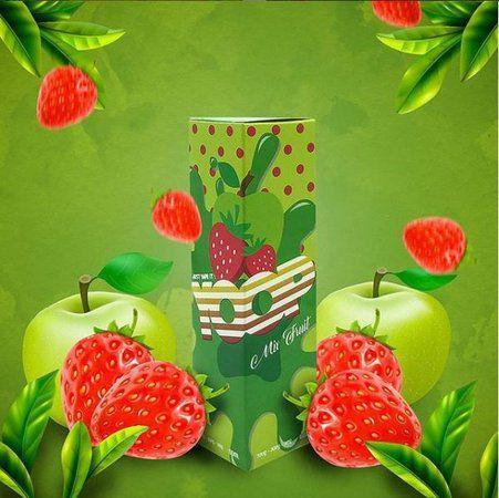 LÍQUIDO MIX FRUIT STRAWBERRY GREEN APPLE - YOOP