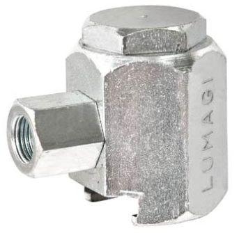 """Acoplador Hidraúlico standard para pinos de lubrificação para tratores de esteiras. Rosca fêmea 1/8"""" NPT LUB1850"""