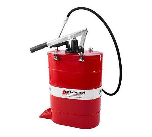 Bomba de Graxa Manual 18Kg alta pressão LUB550