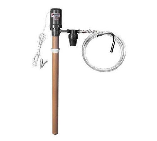 Bomba Transferência Oléo Diesel elétrica 12V com filtro adaptável em tambor LUB900