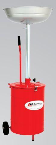 Pingadeira de Óleo Sem Funis para 20 litros com carrinho LUB1030