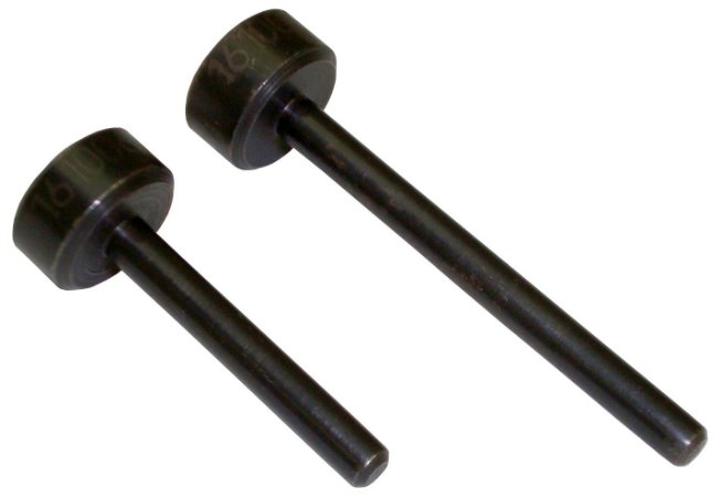 Ferramenta para posicionar os comandos de válvulas durante a troca da correia dentada de motores. (RAVEN 161006)
