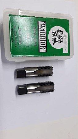 """Macho Manual BSP 5/8""""x14 p/tubo Aço Liga c/ 2 peças"""