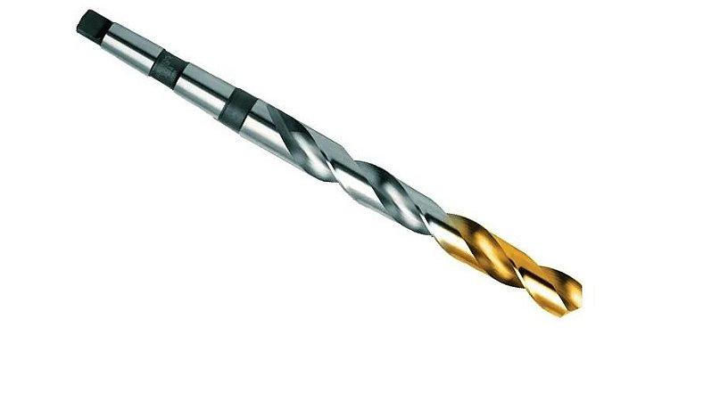 Broca aço rápido cônica 20,50mm DIN345 TW404