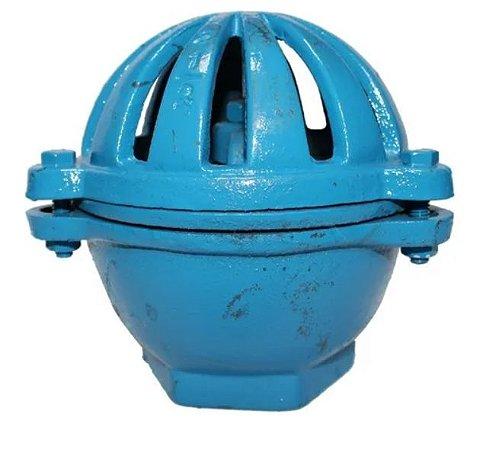 """Válvula Retenção Vertical Poço Ferro Fundido 1.1/2"""" (cebola)"""