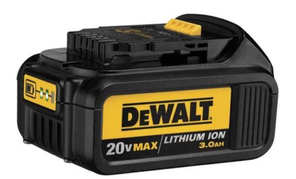 Bateria Íons Lítio 20V 3,0Ah Max premium DCB200-B3
