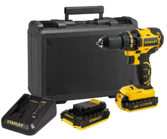 "Parafusadeira e Furadeira Bateria 20V Max (1/2"") bivolt Brushless SBD20S2K-BR"