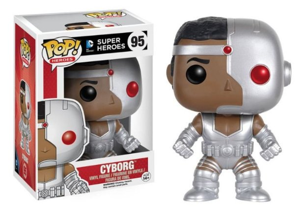 Funko POP - Cyborg DC Comics Super Heroes