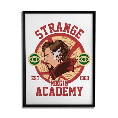 Quadro Decorativo Dr. Strange A3 By Cleyton Braga