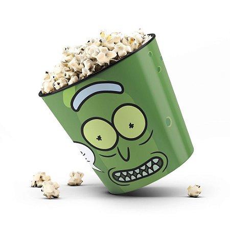 Balde de Pipoca Pickle - Rick and Morty